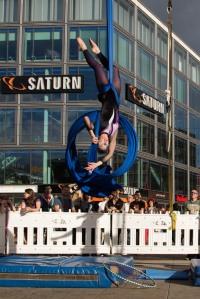 SaArial Dance @ Berlin Lacht 2015